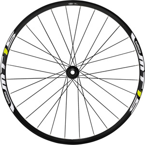WH-MT15 XC wheel, 15 x 100 mm axle, 26in clincher, black, front