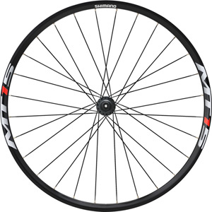 WH-MT15 XC wheel, Q/R 100 mm axle, 27.5in (650B) clincher, black, front