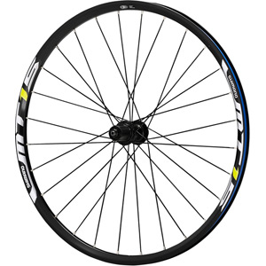 WH-MT15 XC wheel, Q/R 135 mm axle, 26in clincher, black, rear