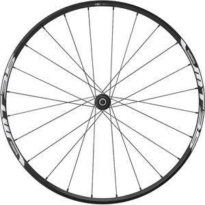 WH-MT35 XC wheel, Q/R 100 mm axle, 27.5in (650B) clincher, black, front