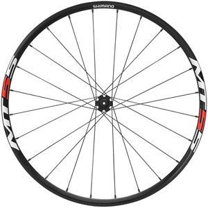 WH-MT55 XC wheel, Q/R 100 mm axle, 26in clincher, black, front