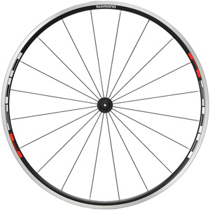 WH-R500 wheel, clincher 24 mm, black, front
