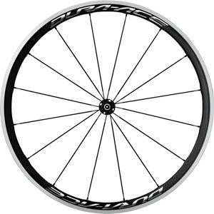 WH-R9100-C40-CL Dura-Ace wheel, Carbon clincher 35 mm, front Q/R