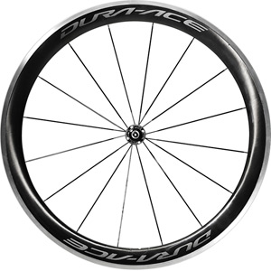 WH-R9100-C60-CL Dura-Ace wheel, Carbon clincher 50 mm, front Q/R