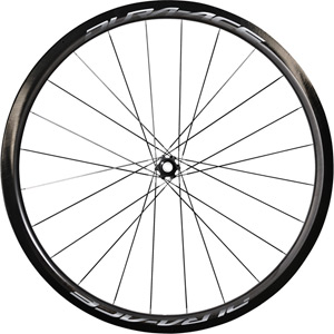 WH-R9170-C40-TU Dura-Ace disc wheel, Carbon tubular 40 mm, front 12x100 mm