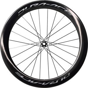 WH-R9170-C60-TU Dura-Ace disc wheel, Carbon tubular 60 mm, front 12x100 mm