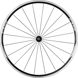 WH-RS010 wheel, clincher 24 mm, black, front