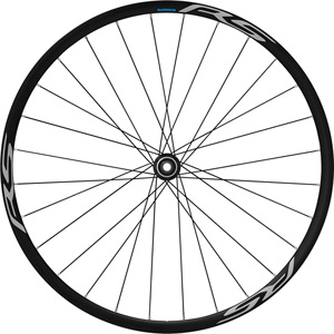 RS170 clincher for Centre-Lock disc rotor, 100x12 mm axle, front, black