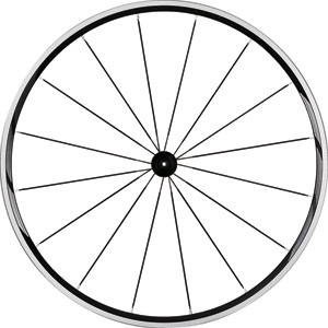 WH-RS21 wheel, clincher 24 mm, black, front