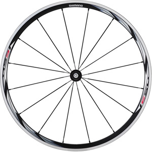 WH-RS31 wheel, clincher 30 mm, black, front