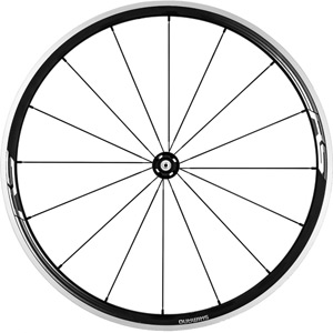 WH-RS330 wheel, clincher 30 mm, black, front