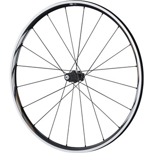 WH-RS610-TL wheel, Tubeless ready clincher 24 mm, 11-speed, black, pair