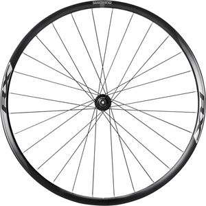 WH-RX010 disc road wheel, clincher 24 mm, black, front