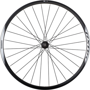 WH-RX05 disc road wheel, clincher 24 mm, black, front