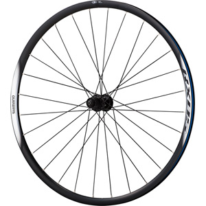 WH-RX05 disc road wheel, clincher 24 mm, 10-speed, black, pair
