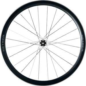 WH-U5000 Metrea front Centre Lock disc wheel, 700C clincher, 100 x 12 mm