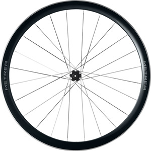 WH-U5000 Metrea front Centre Lock disc wheel, 700C clincher, Q/R