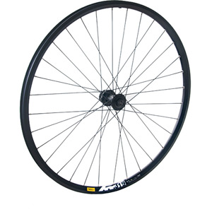 Shimano Deore QR15 front with Mavic XM319 black CL-disc 32 hole 29 inch