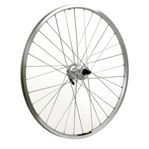 Shimano M475 / Mavic XM317 silver / DT Swiss P/G 32 hole front wheel