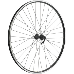 Shimano Deore / Mavic A319 black / DT Swiss P/G 36 hole front wheel