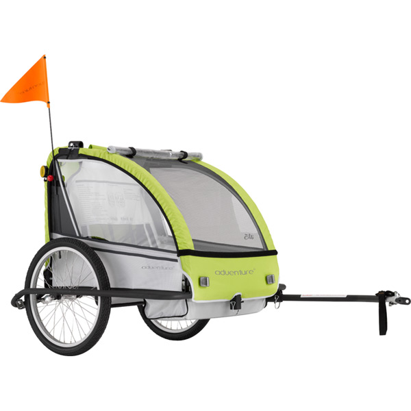 AT5 - alloy 2-seater bicycle trailer