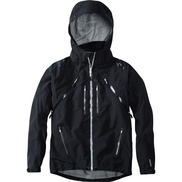 Winter Storm men's 3-Layer waterproof jacket, black medium