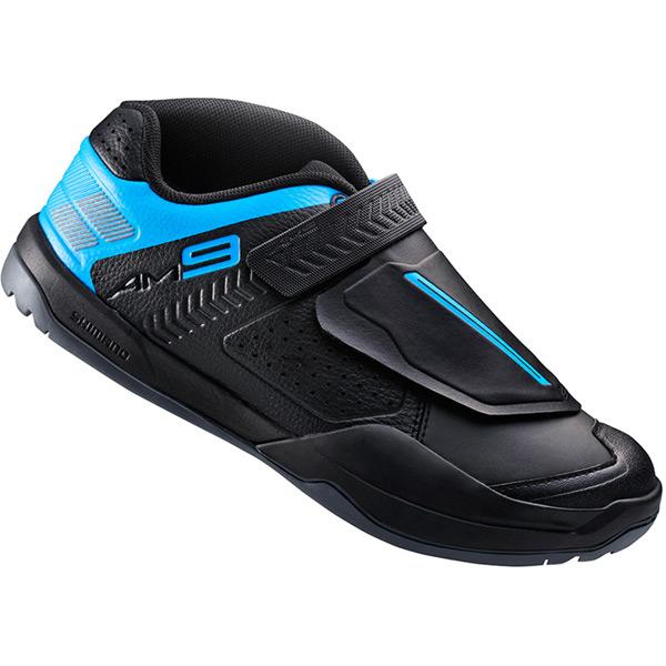AM9 SPD shoes, black / blue, size 38