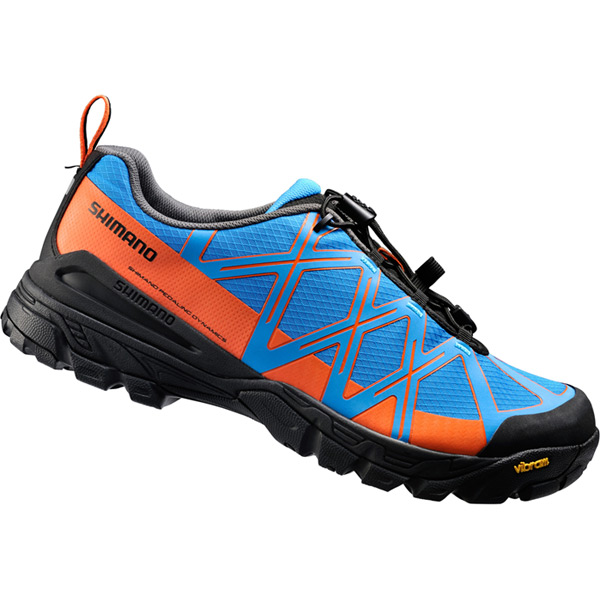 MT54 SPD shoes, blue / orange, size 43