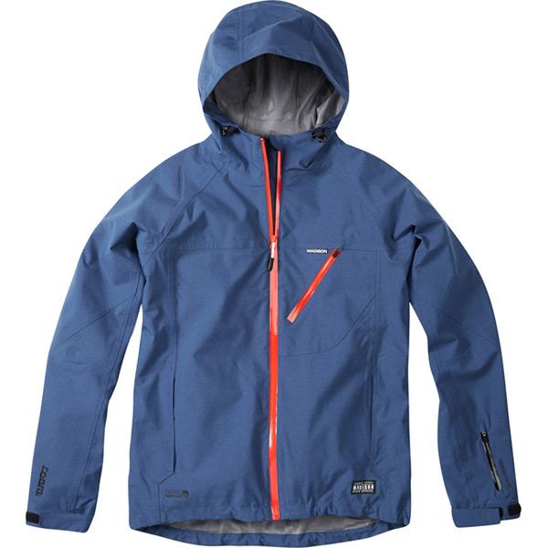Roam men's waterproof jacket, airforce blue small