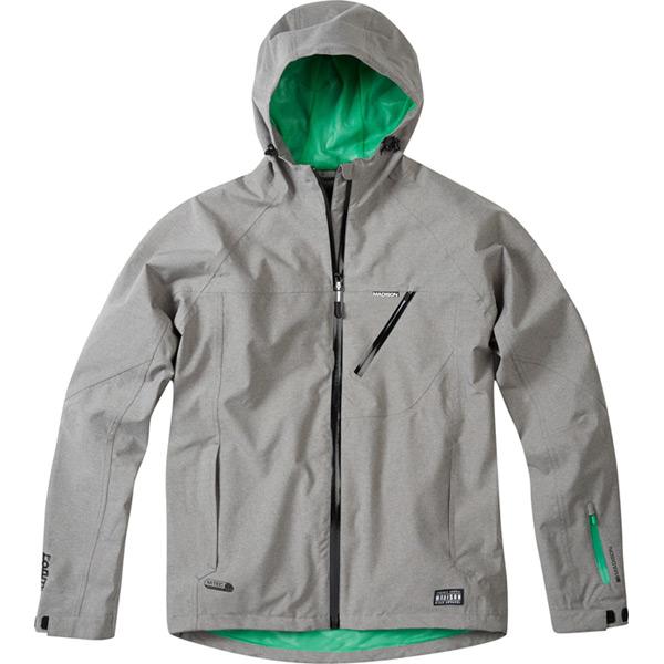 Roam men's waterproof jacket, cloud grey small