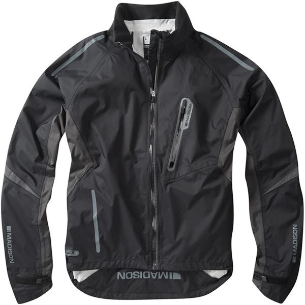 Stellar men's waterproof jacket, stealth black X-large