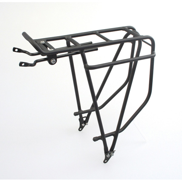 Summit rear pannier rack - alloy black
