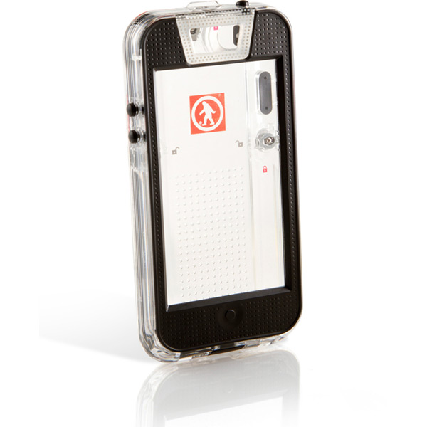 Safe 5 - iPhone 5 IPX-7 Waterproof Case --Clear