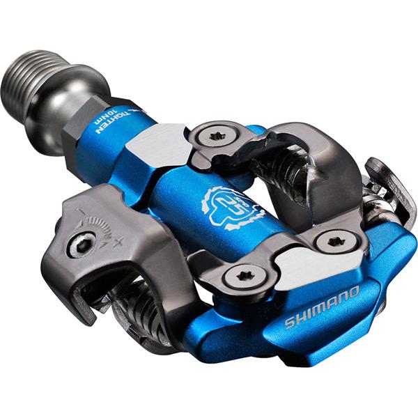 PD-M990 XTR MTB SPD XC race pedals - two-sided mechanism - blue