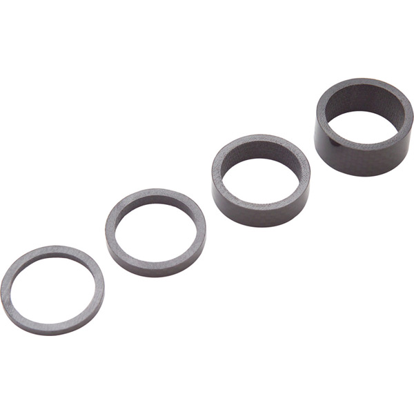 Headset spacers, UD carbon, 3/ 5/ 10/ 15 mm, 1-1/4 inch