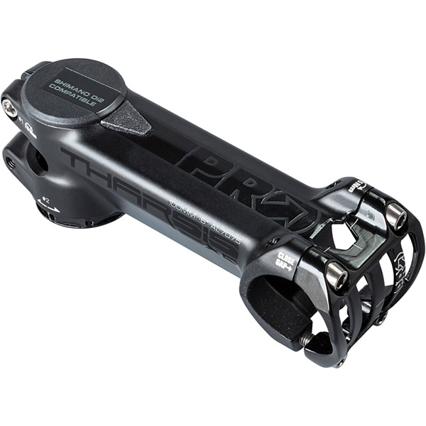 Tharsis XC Stem + Battery Expander Black 80mm / 31.8 / -6 angle