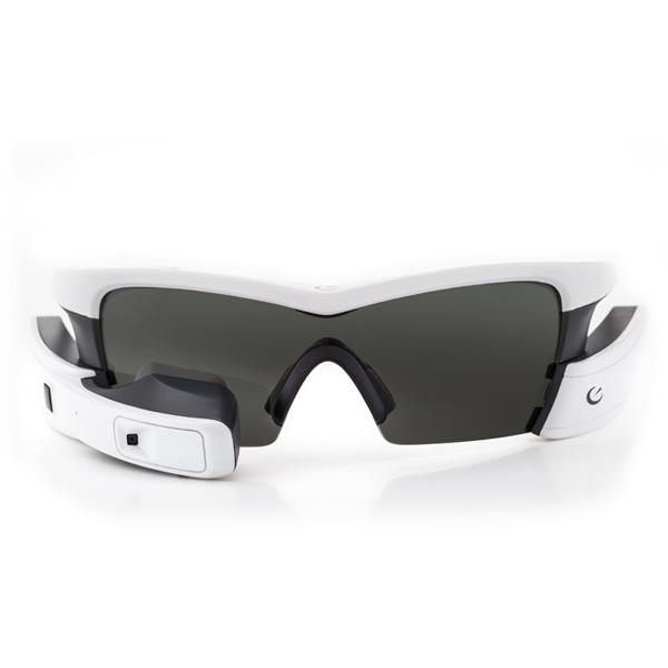 Recon Jet White - Heads Up Display Smart Eyewear