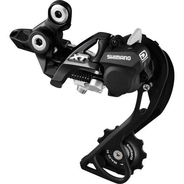 RD-M786 XT 10-speed Shadow+ design rear derailleur, GS, black
