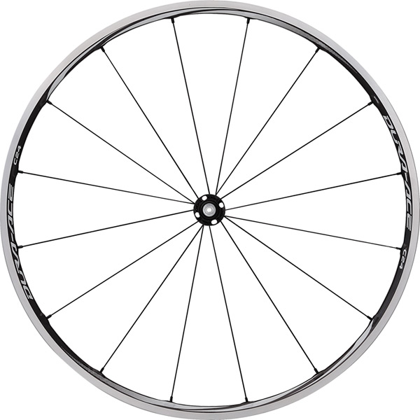 WH-9000-C24-CL Dura-Ace wheel, carbon laminate clincher 24 mm, pair